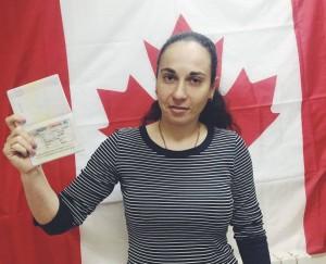 иммиграционная виза в Канаду Паллеонн