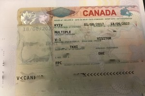 краткосрочная мультивиза в Канаду 2017