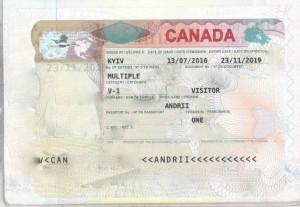 Visa visit Andrii